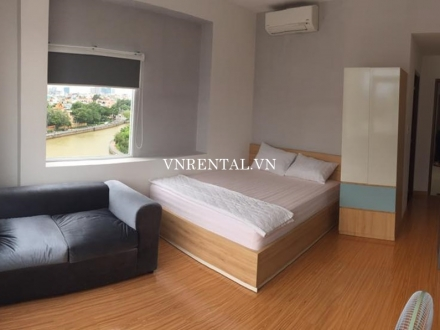 Nice river view serviced apartment for rent in District 3, Ho Chi Minh City